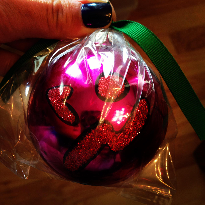 Zumba Christmas Ornaments | www.KoyoteKate.com