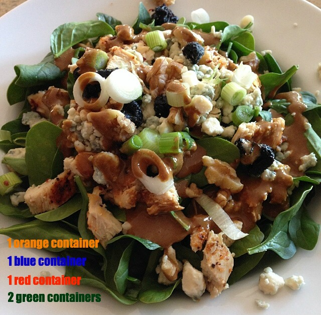 21-day fix salad